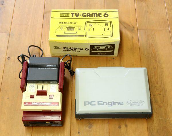 任天堂レトロゲーム TV GAME 6を高価買取しました
