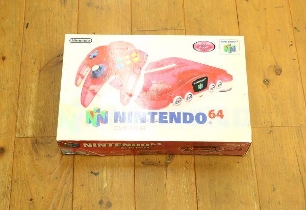 任天堂 ニンテンドー64 クリアレッドを高価買取しました!